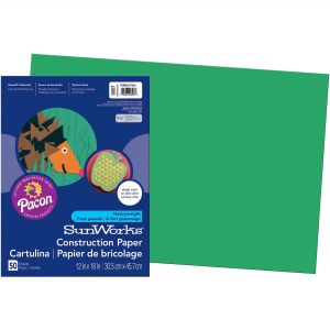 Green Construction Paper
