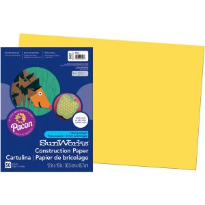Yellow Construction Paper