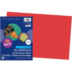 Red Construction Paper