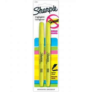 2pk Yellow Highlighter