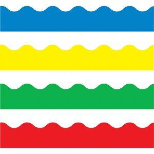 Multicolored Board Trim