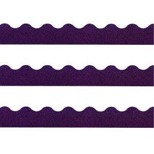 Purple Sparkle Board Trim