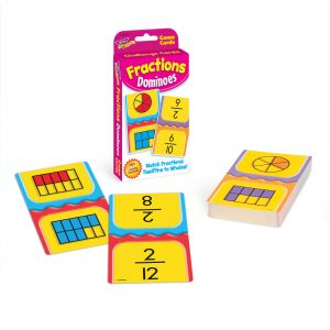 Fraction Domino Card Game