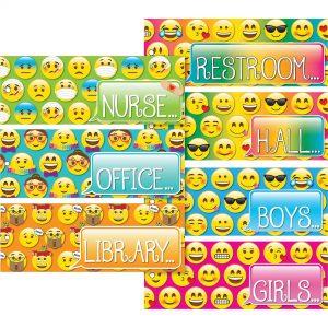 Emoji Hall Pass Set