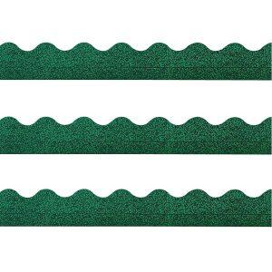 Green Sparkle Board Trim