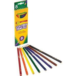 8 pack Crayola Colored Pencils