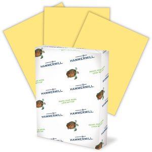 Yellow Copy Paper
