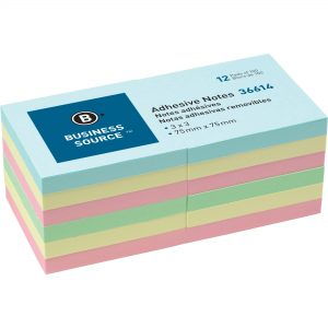 Assorted Colored Sticky Notes