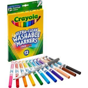 12ct Crayola Thin Markers
