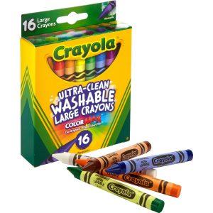 Large Washable Crayons