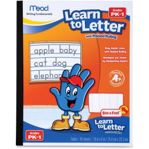 Mead Learn to Letter Book