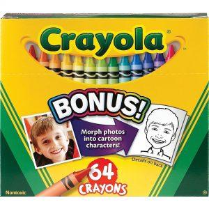 64ct Crayola Crayons