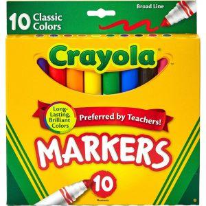 Classic Crayola Markers 10pk
