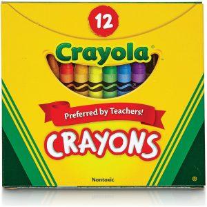 12ct Crayola Crayons