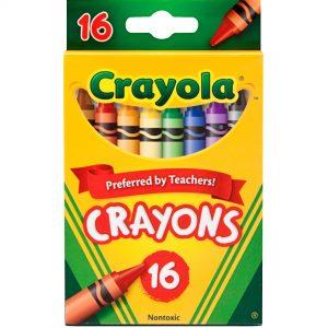 16ct Crayola Crayons